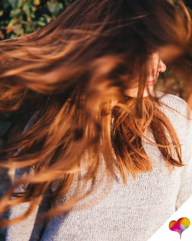 Haarfarbe auffrischen