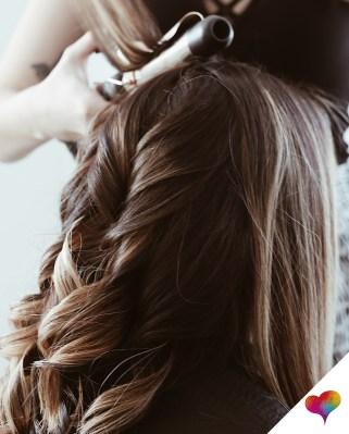 Haselnussbraune Haare