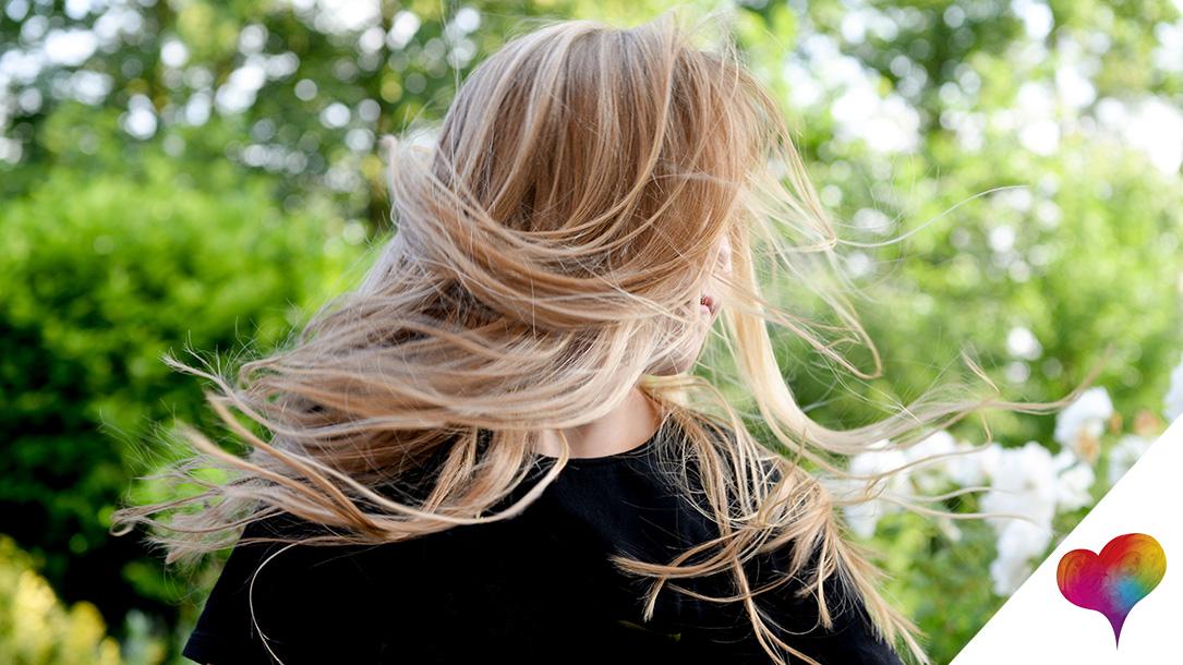 Strähnen verschiedene blondtöne Trendhaarfarbe Blond: