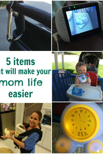 5 Items That Will Make Your Mom Life Easier