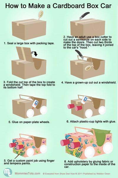 Box Costume Cardboard Car