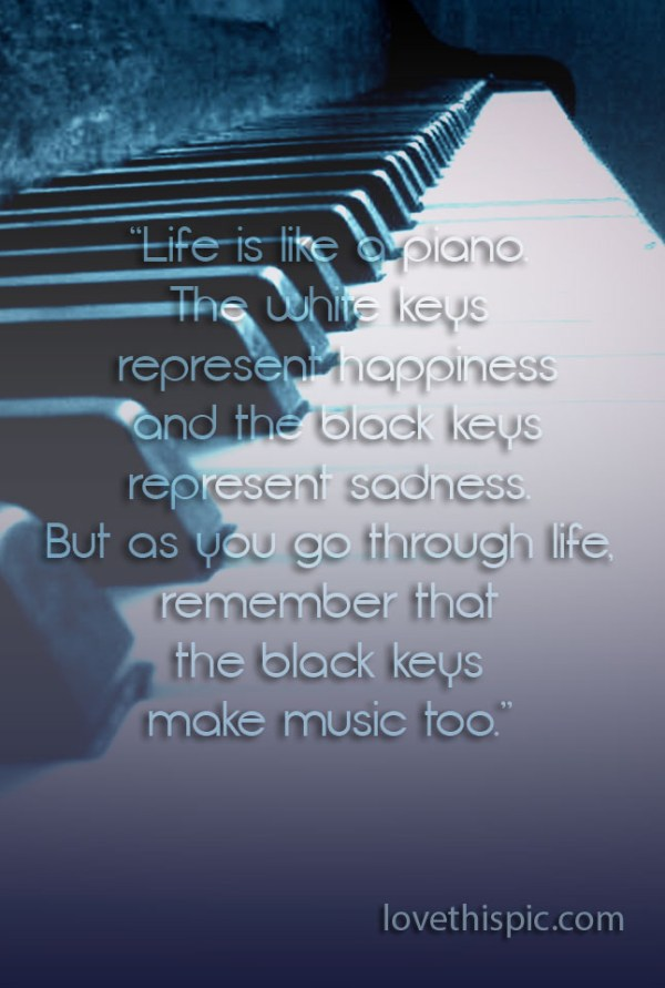 Life Is Like A Piano Pictures, Photos, and Images for ...