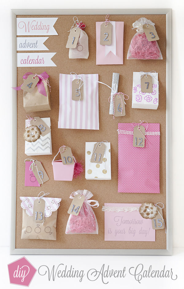 DIY Wedding Advent Calendar Pictures Photos And Images