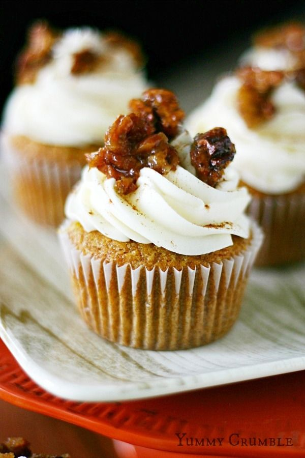 How To Make Pecan Pie Cupcakes Pictures Photos And