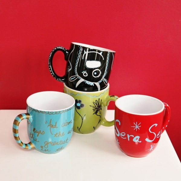 How To Make Fun Sharpie Mugs Pictures Photos And Images
