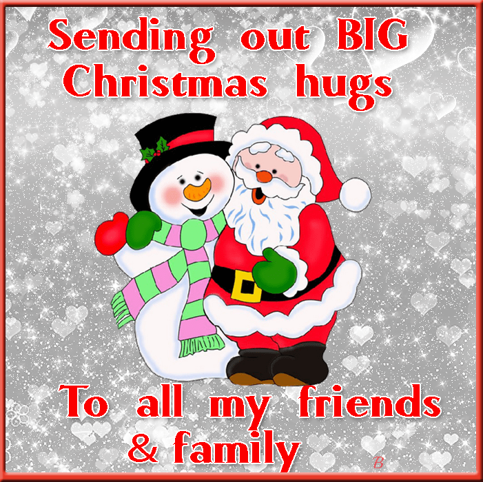 Sending Out Christmas Hugs Pictures Photos And Images
