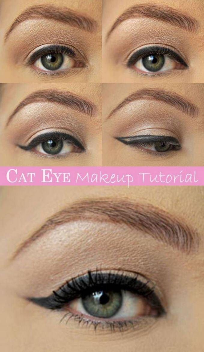 cat eye makeup tutorial pictures, photos, and images for