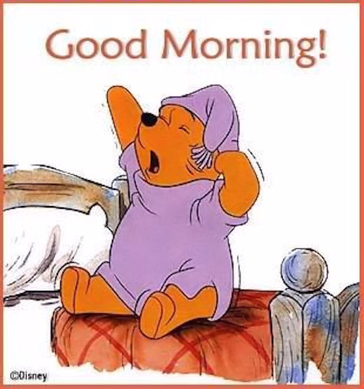 Good Morning Winnie The Pooh Pictures Photos And Images