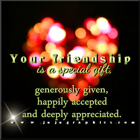 Your Friendship Is A Special Gift Pictures Photos And