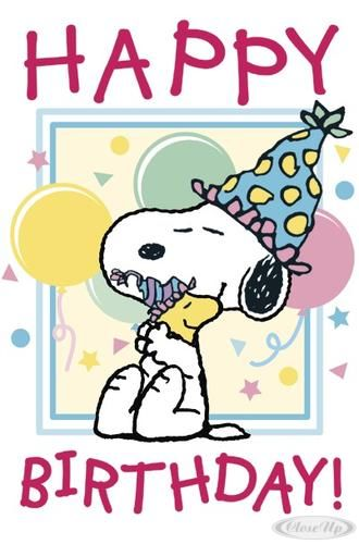 Snoopy Happy Birthday Pictures Photos And Images For