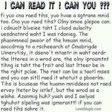 Image result for can you read this