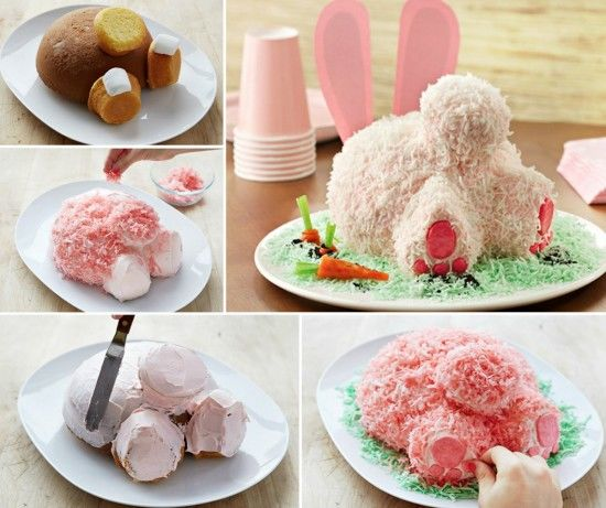 How To Make A Bunny Butt Cake Pictures Photos And Images