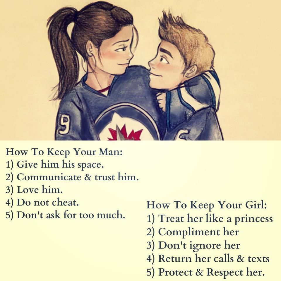 How To Keep A Man And Girl