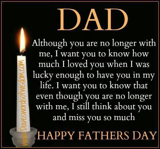 Happy Fathers Day Quote For Dads Who Are No Longer Here