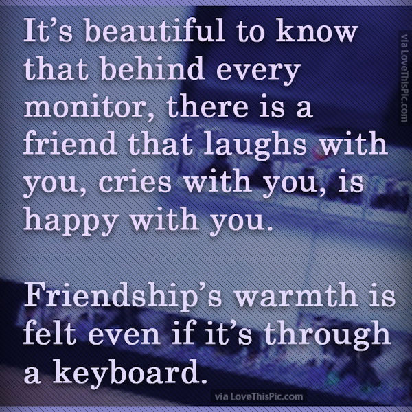 Image result for online friends quotes