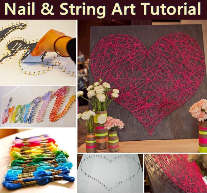 Diy String Art Projects Joy Cool Fun And Easy Letters