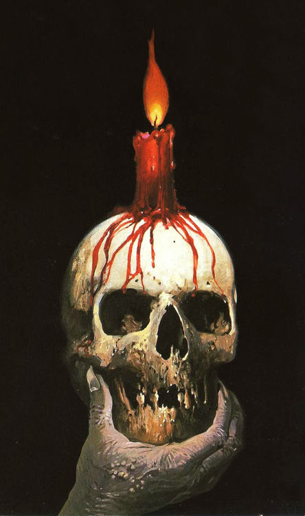 Bloody Skeleton Candle Pictures Photos And Images For