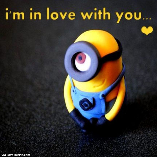 I Am In Love With You Minion Quote Pictures  Photos  and Images for     I Am In Love With You Minion Quote