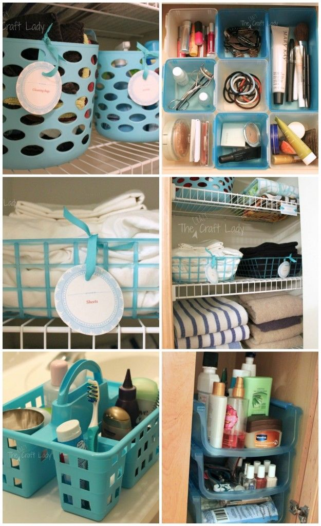 Dollar Store Bathroom Organizing Pictures Photos And