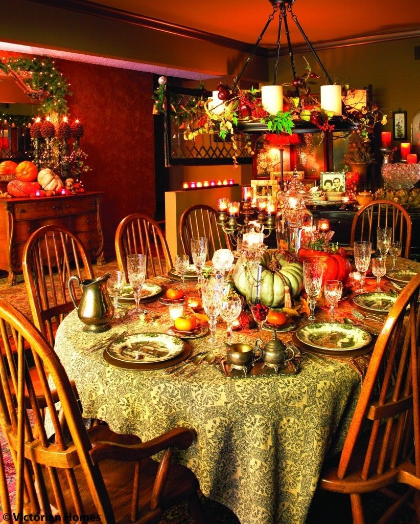 Richly Colorful Thanksgiving Dining Room Pictures Photos And Images For Facebook Tumblr