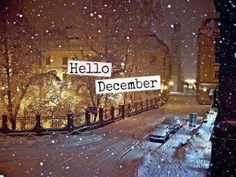 Hello December Quote With SNow Pictures Photos And
