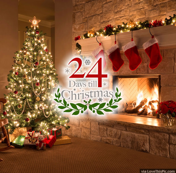 24 Days Until Christmas Quote Pictures Photos And Images