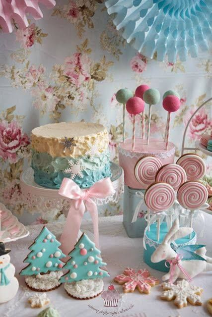 Pastel Christmas Treats Pictures Photos And Images For