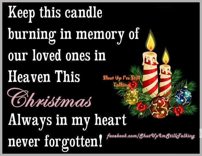 Keep This Candle Burning For Loved Ones In Heaven This