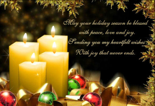 May Your Holiday Season Be Blessed With Peace Love And Joy Pictures Photos And Images For