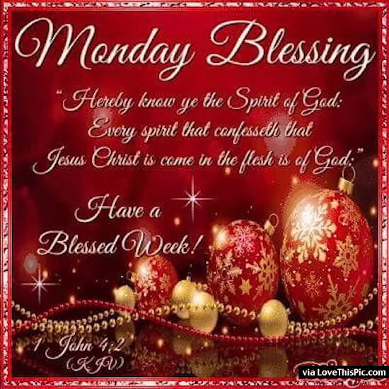 Christmas Monday Blessings Pictures Photos And Images