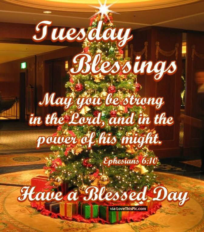 Tuesday Quotes Blessings Morning