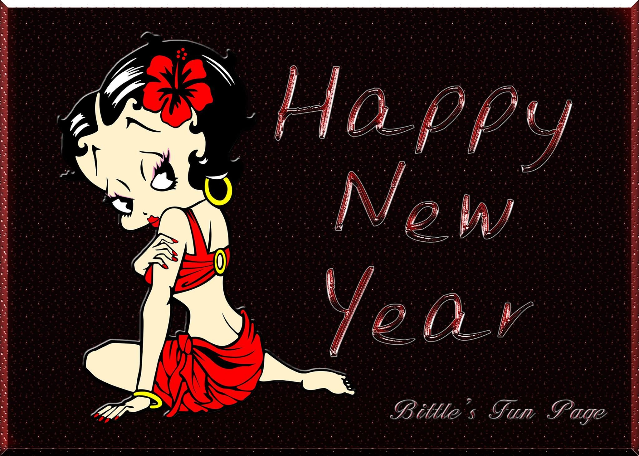 betty boop happy new year