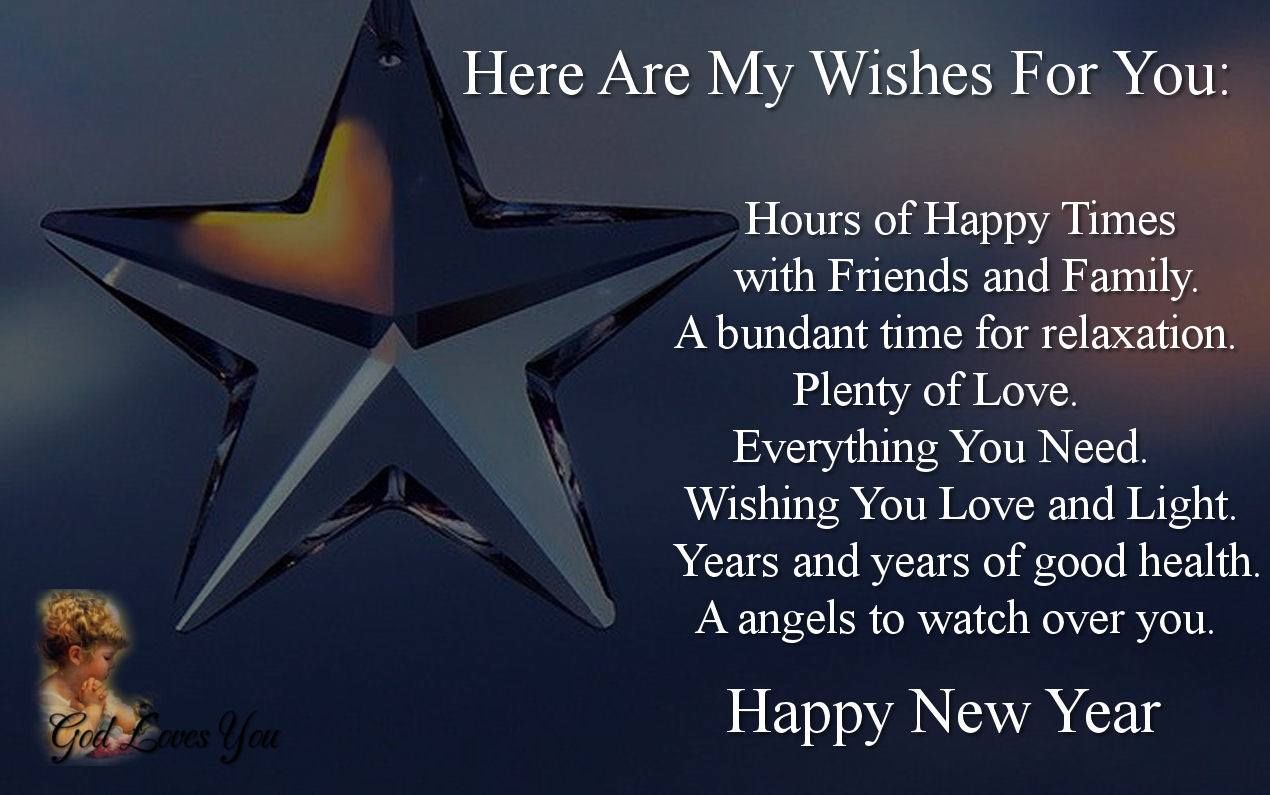 Here Are My New Year Wishes For You Pictures Photos And