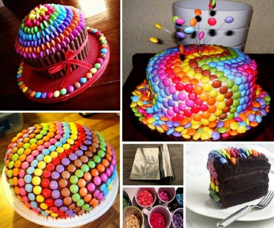 Rainbow MampM Cake Pictures Photos And Images For Facebook