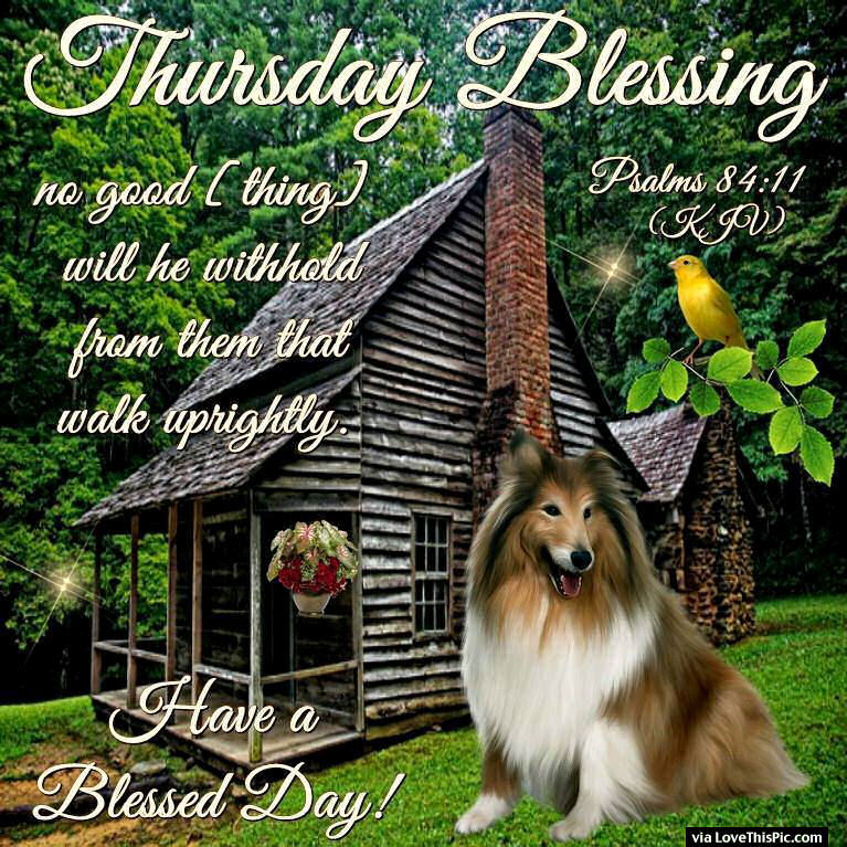 Winter Blessings Thursday