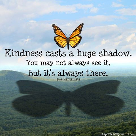 Kindness Casts A Huge Shadow Pictures Photos And Images