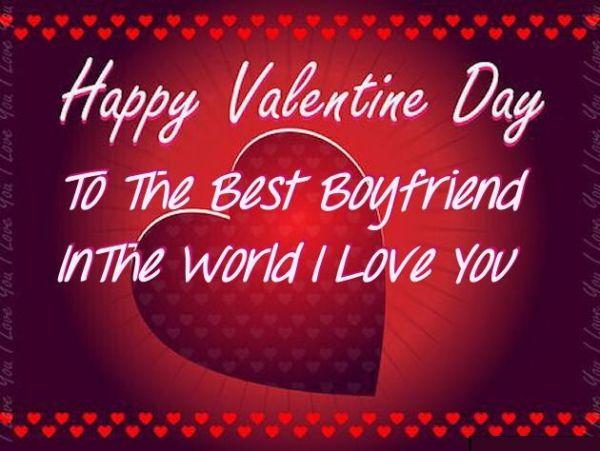 Happy Valentines Day To My Boyfriend Image Quote Pictures ...