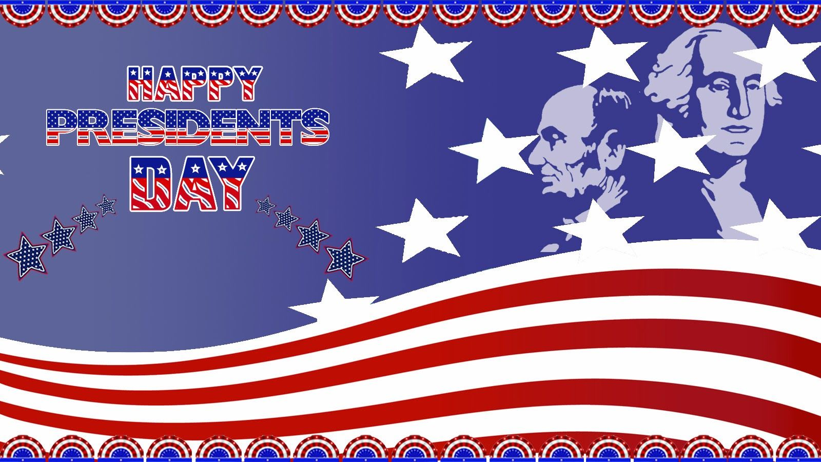 Happy Presidents Day Stars And Stripes Pictures Photos