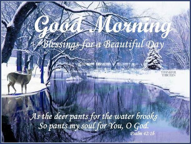 Morning Good Winter Quotes Religious