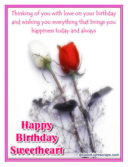 Happy Birthday Sweetheart Pictures Photos And Images For