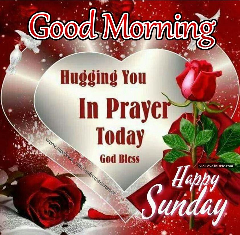 Blessings Morning And Prayers Good Sunday