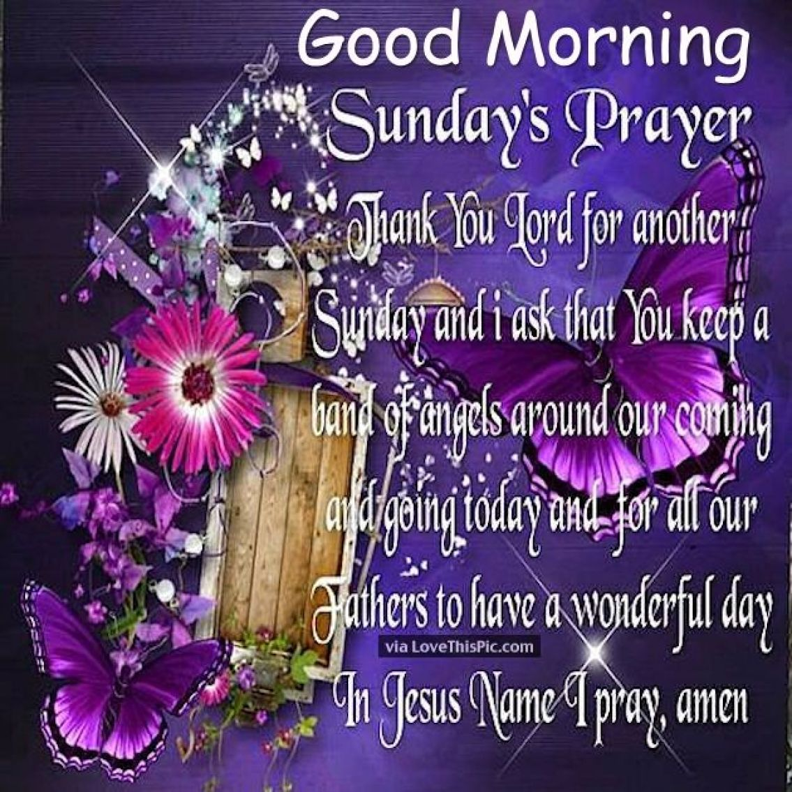 Good Morning Sunday Prayer Pictures, Photos, and Images for Facebook,  Tumblr, Pinterest, and Twitter
