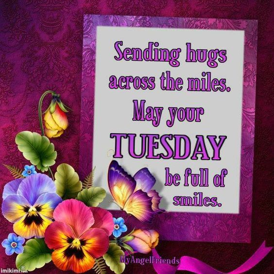 Sending Tuesday Hugs Across The Miles Pictures Photos
