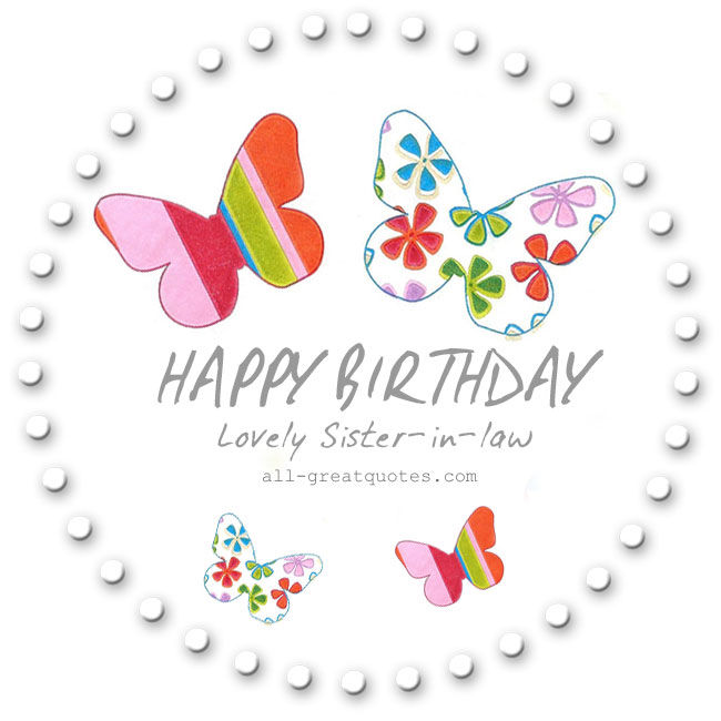 Happy Birthday Lovely Sister In Law Pictures Photos And Images For Facebook Tumblr Pinterest