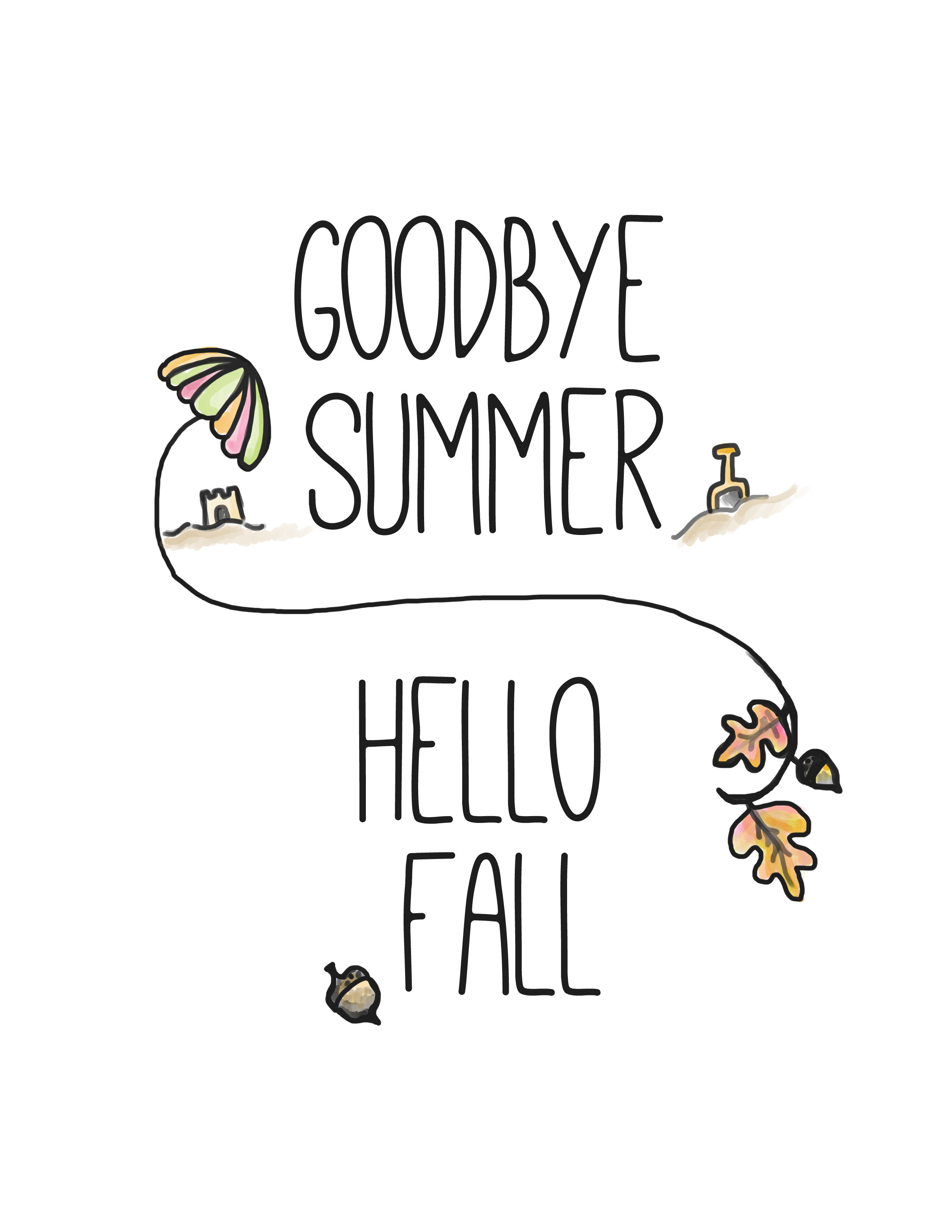 Goodbye Summer Hello Fall Pictures Photos And Images