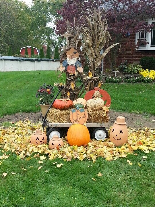 Outdoor Fall Decorations Pictures, Photos, and Images for ... on Lawn Decorating Ideas id=28372