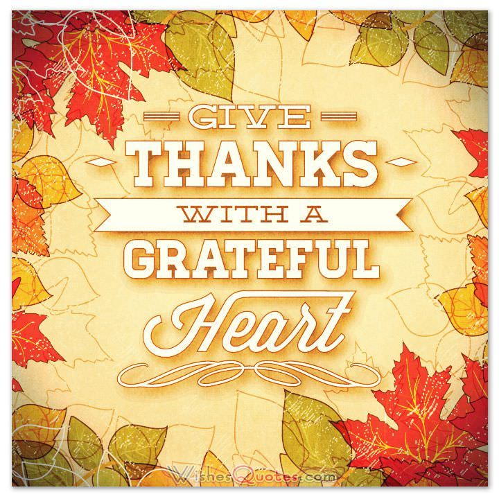 Give Thanks With A Grateful Heart Pictures Photos And