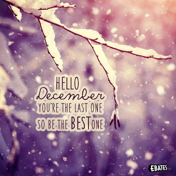 Hello December Youre The Last One So Be The Best One Pictures Photos And Images For Facebook