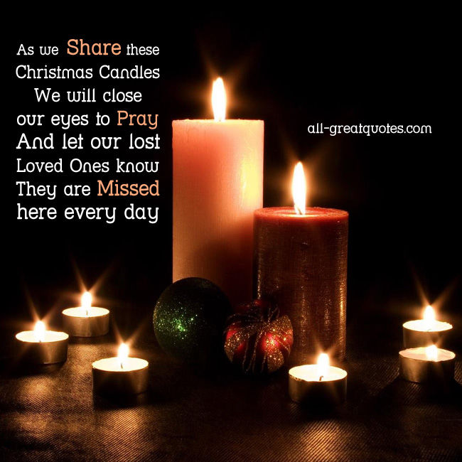 As We Share These Christmas Candles Pictures Photos