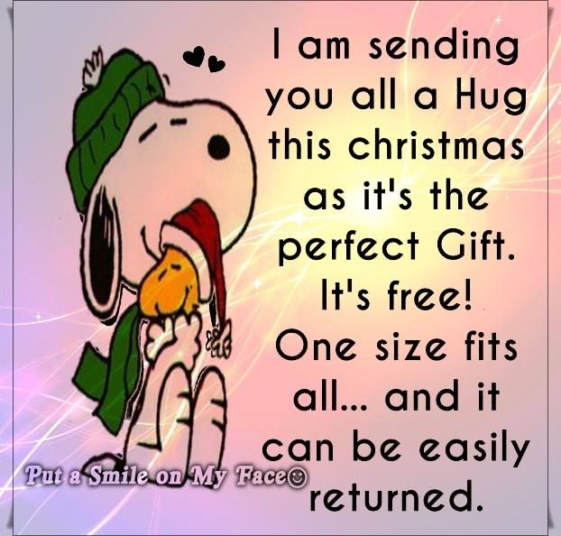 Sending A Christmas Hug Pictures Photos And Images For